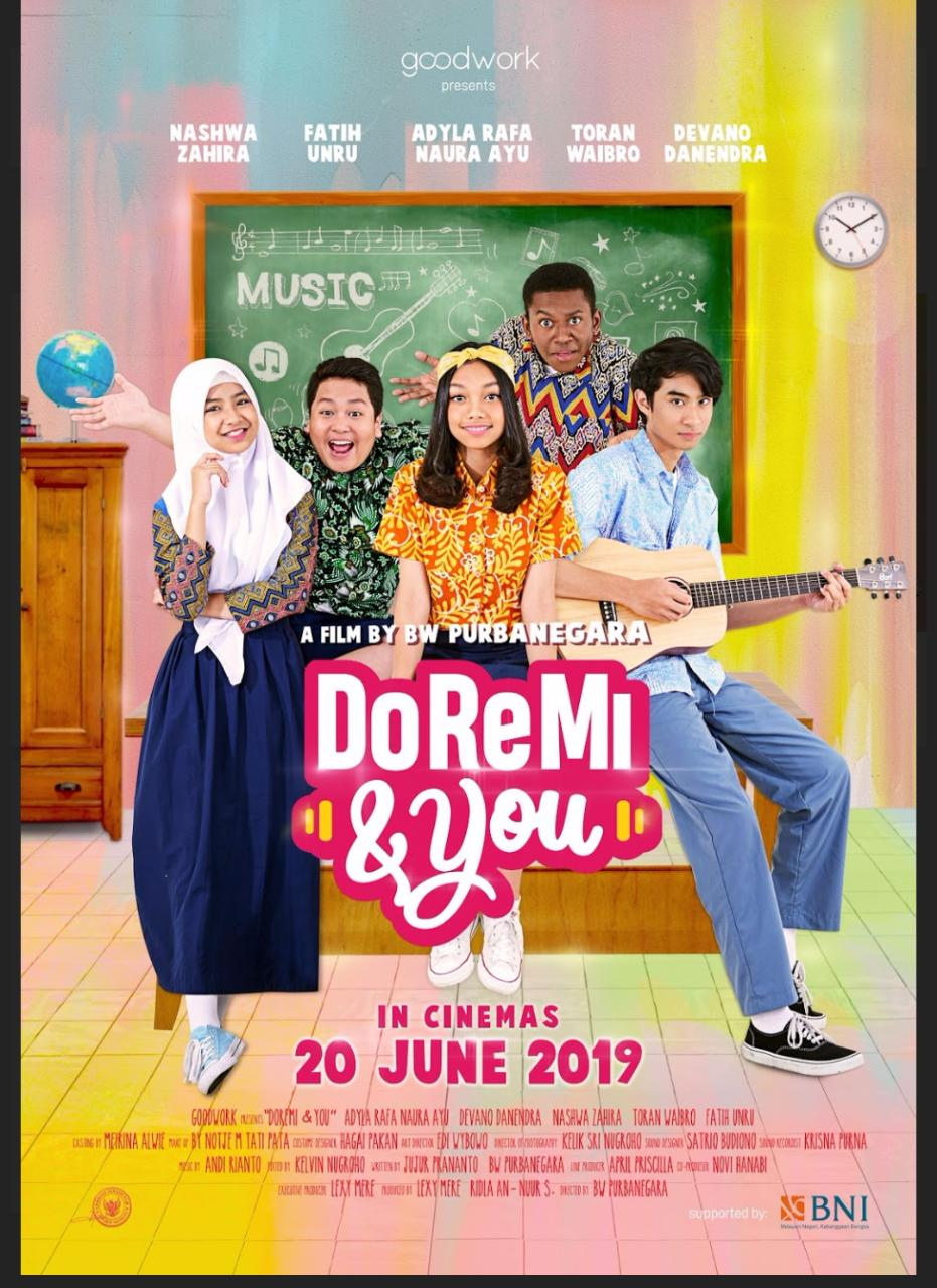 Film Anak Indonesia Doremi You Siap Tayang 20 Juli
