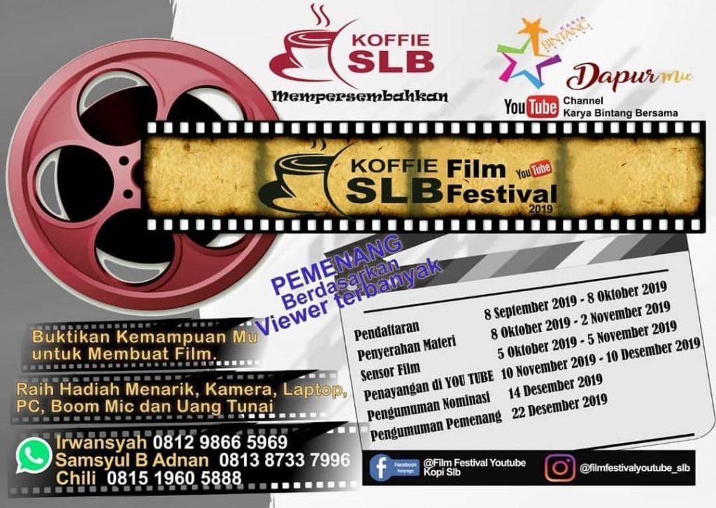 Informasi lengkap untuk mengikuti Film YouTube Festival di Instagram @karyabintangbersama