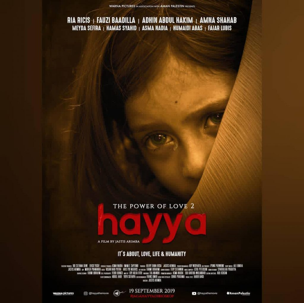 Poster 'Hayya The Power of Love' tayang 19 September mendatang