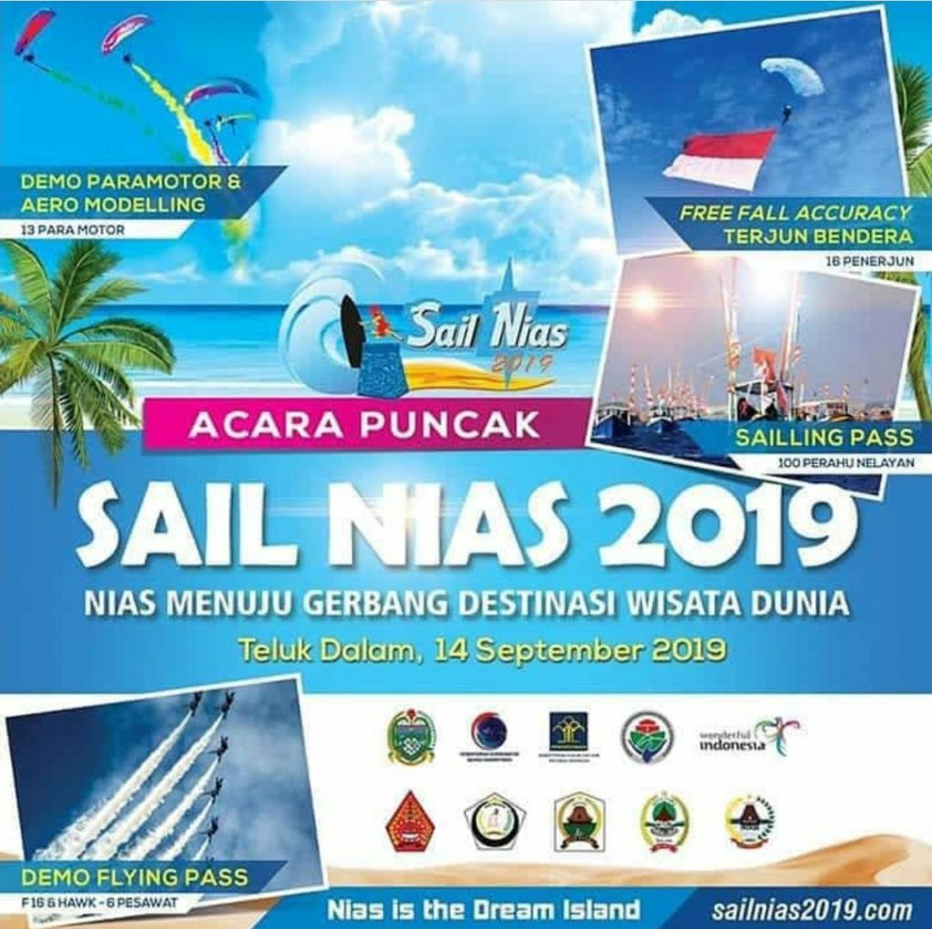 Acara puncak Sail Nias 2019, 14 September
