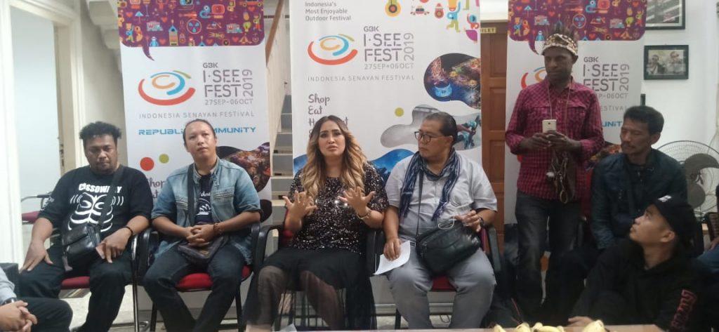 Foto Beb - I SEE Fest 2019 jadi ajang kembalinya Pinkan Mambo ke panggung musik