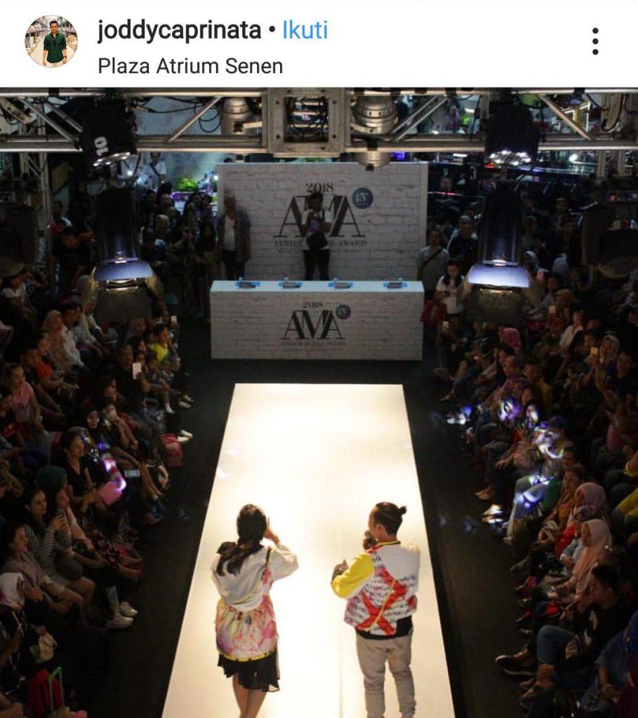 Instagram - Meriahnya AMA 2018