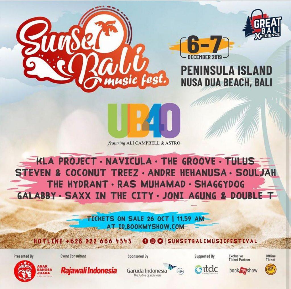 Sunset Bali Music Festival