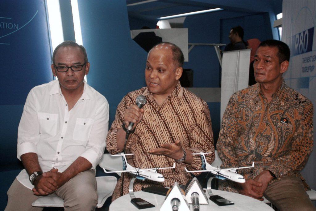 Ilham Akbar Habibie menjelaskan tentang produksi pesawat kebanggaan rakyat Indonesia, R-80