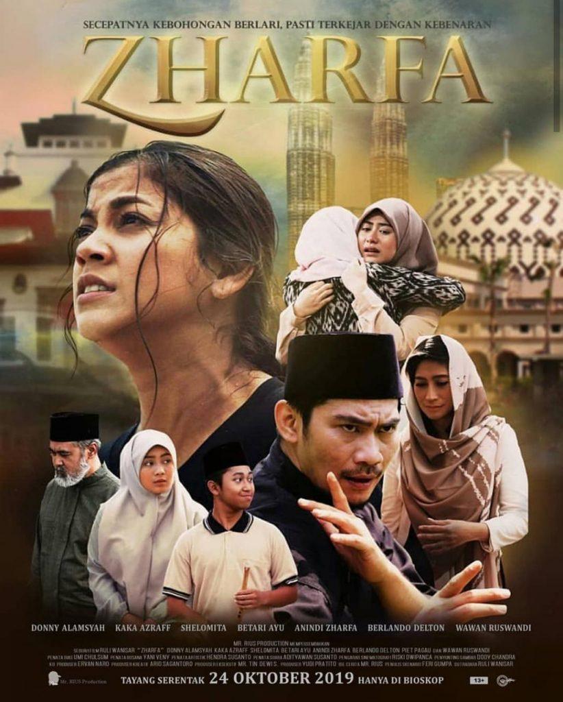 Poster Film 'Zharfa' tayang di bioskop 24 Oktober mendatang