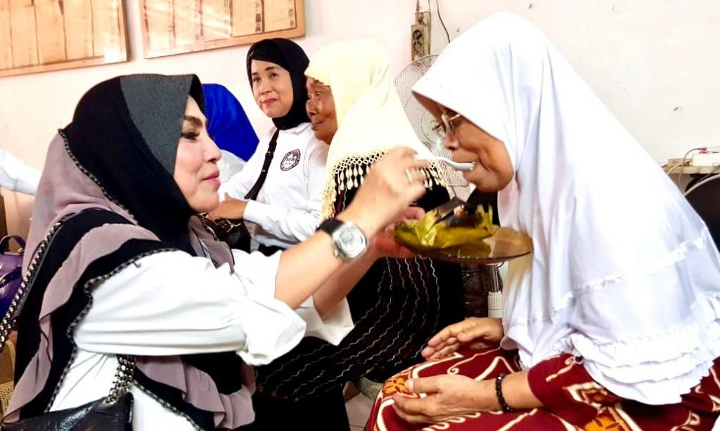 Peduli Perempuan Lansia, KPPI kunjungi Yapensos Pusaka VI PSTW Bhakti Putra Pratama