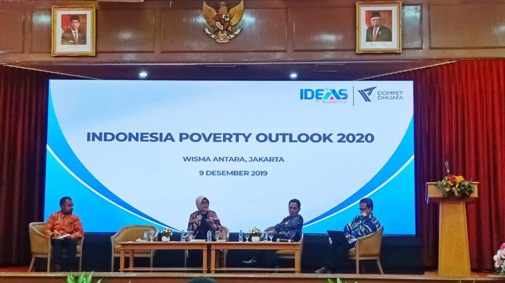 Foto Beb - Diskusi Peta Strategi Penanggulangan Kemiskinan Berbasis Pertumbuhan Ekonomi