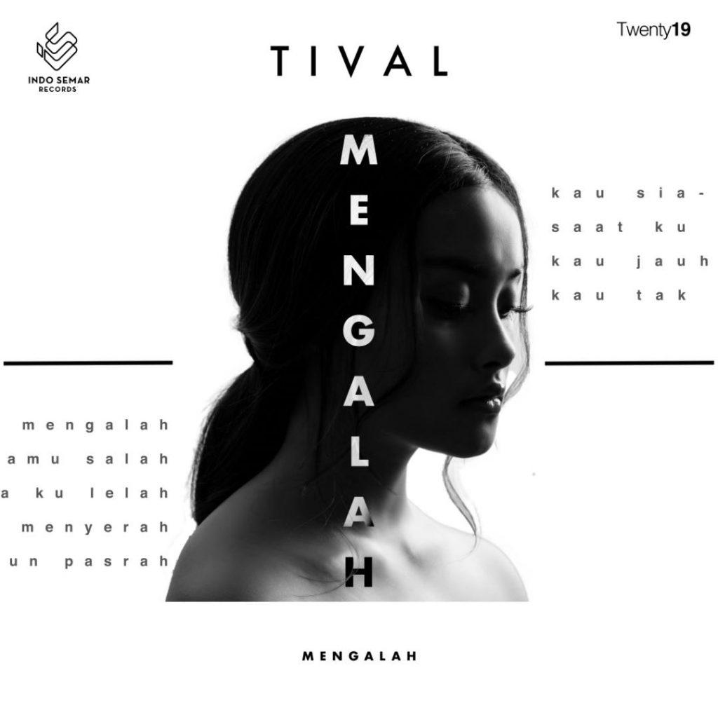 Cover single Tival 'Mengalah'