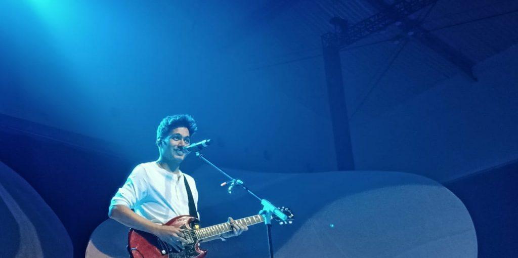 Foto Beb - Rendy Pandugo, konser pertama sepanjang karirnya di Icefest Music Concert